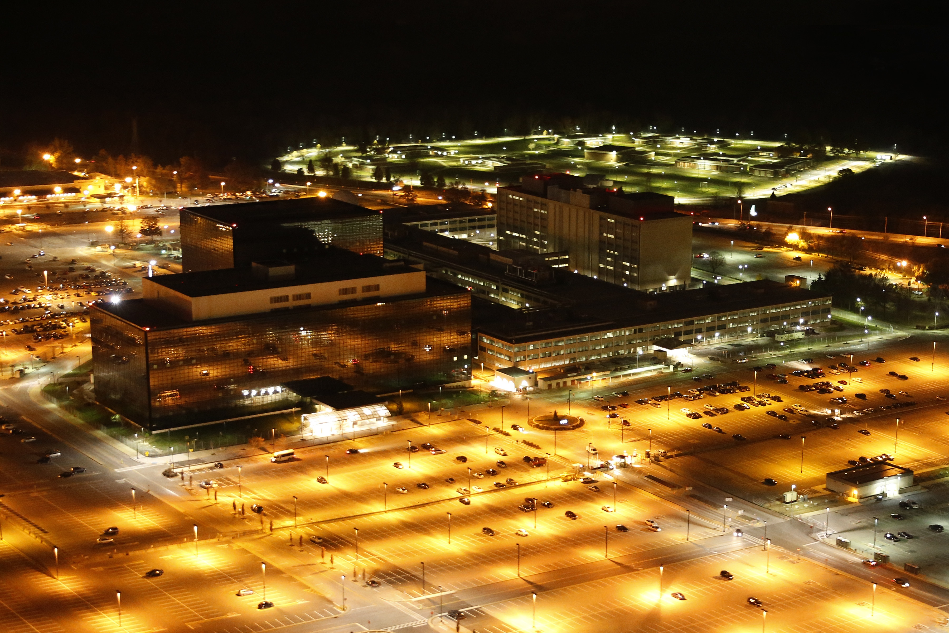 Hauptquartier der NSA, Foto des Konspirations-Künstlers Trevor Paglen
